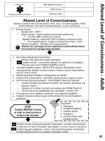 altered level of consciousness adult