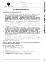destination decisions general