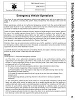 emergency vehicle operations general