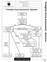firefighter scene assessment resource