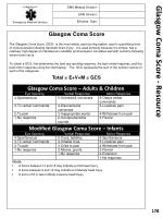 glasgow coma score resource