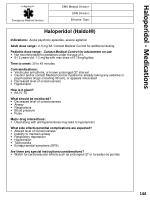haloperidol medications