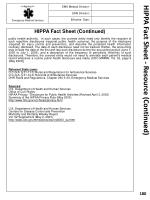 hippa fact sheet resource continued