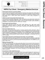 hippa fact sheet resource