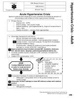 hypertensive crisis adult