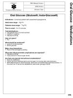 oral glucose medications