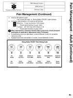 pain management adult continued