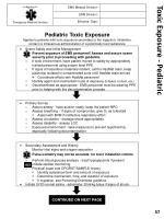toxic exposure pediatric