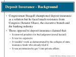 deposit insurance background1