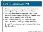 garn st germain act 1982