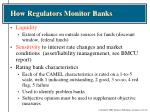 how regulators monitor banks2