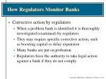 how regulators monitor banks3