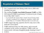 regulation of balance sheet4