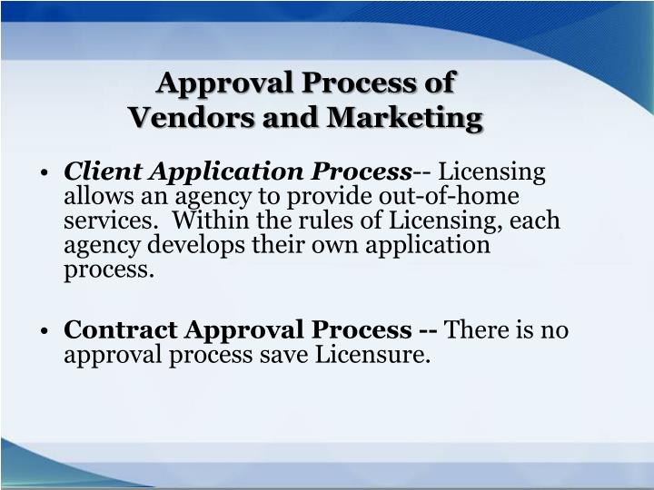 Client Application Process