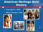 american heritage girls history