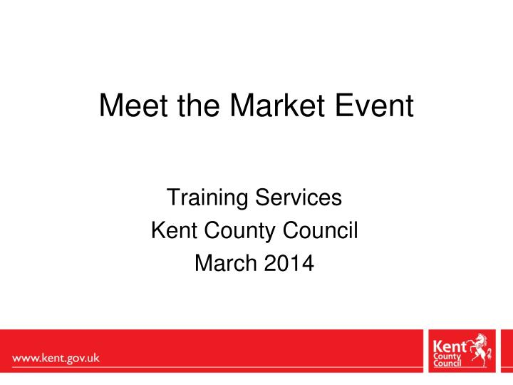 meet the market event n.