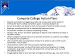 compete college action plans