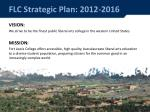 flc strategic plan 2012 2016
