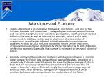 workforce and economy