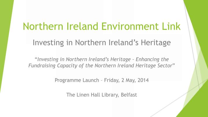 northern ireland environment link n.