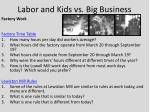 labor and kids vs big business2
