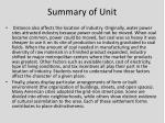 summary of unit1