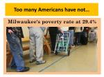 too many americans have not