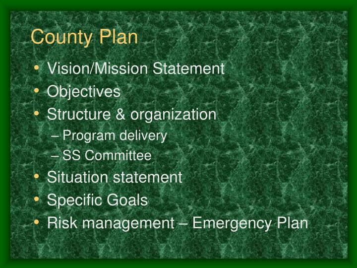 County Plan