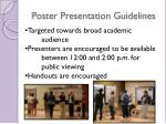 poster presentation guidelines1