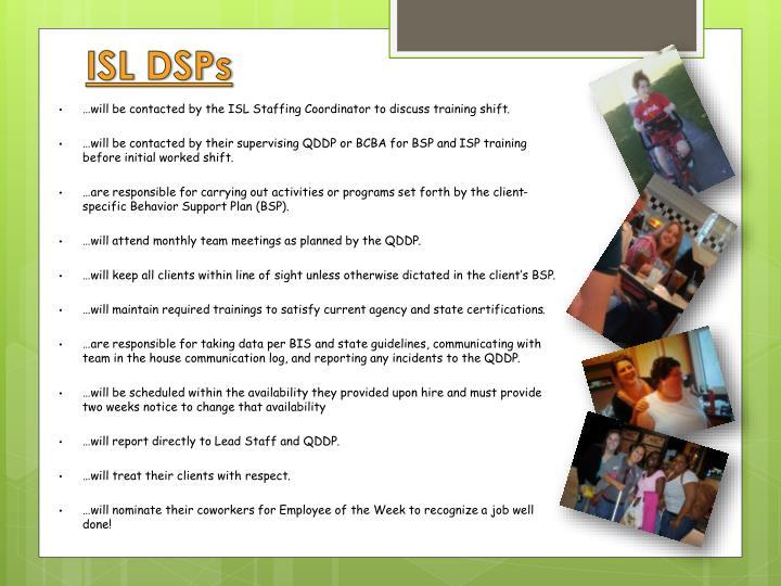 ISL DSPs