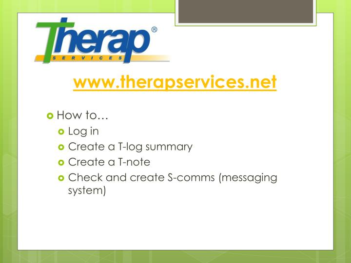 www.therapservices.net
