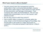 what if your insurer s office is flooded