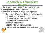 engineering and architectural services