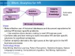 iwork analytics for hr