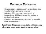 common concerns1