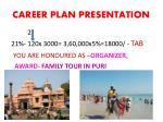 career plan presentation18