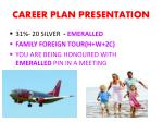 career plan presentation23