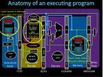 anatomy of an executing program1