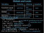 globals and locals2