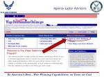agency labor advisors