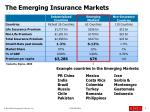 the emerging insurance markets