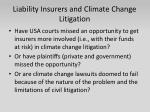 liability insurers and climate change litigation2