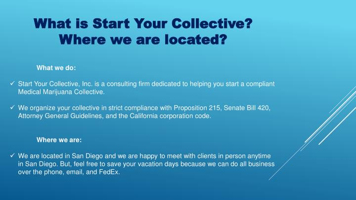 What is Start Your Collective?