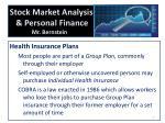 stock market analysis personal finance mr bernstein