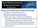 stock market analysis personal finance mr bernstein4