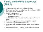 family and medical leave act fmla1