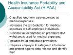 health insurance portability and accountability act hipaa1
