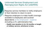 uniformed services employment and reemployment rights act userra1