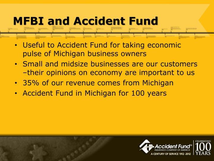 Mfbi and accident fund