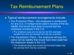 tax reimbursement plans1